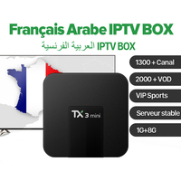 TX3 Mini IPTV French Arabic Box Android 7 1 With Arabic French IPTV Arab France Sport