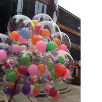 10 Pcs Lot 18 Inch Transparent Wave Ball Balloon Wedding Banquet Celebration Decorative Balloon Foil Balloon