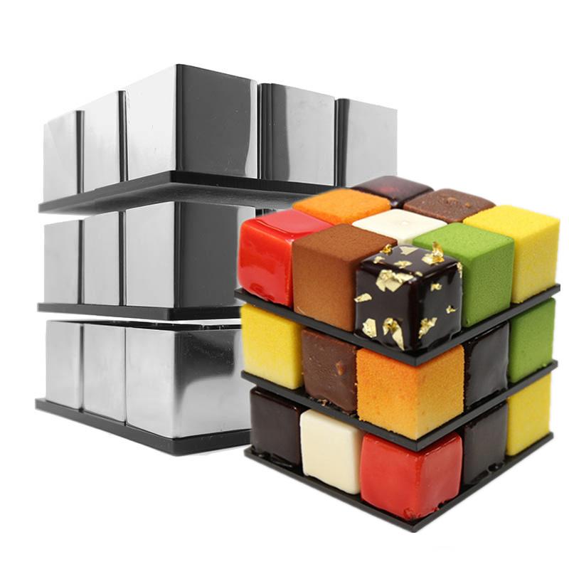 Rubiks Cube cake mold 2