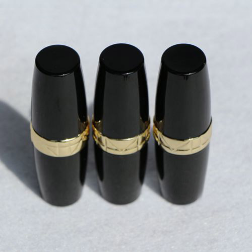 free shipping 12.1mm 10/20/50pcs/lot black elliptical lipstick tube with golden side,empty lip balm container free shipping 5ml pp pro environment material all white lipstick tube lip balm container with rotating flat cover