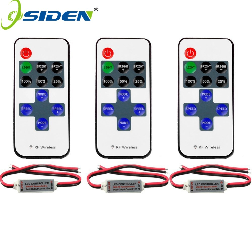 Dimmer Block Rectifier Light Flasher Picturesque Led Strip Single Color Remote Control Wireless Controller For With Battery 950x980