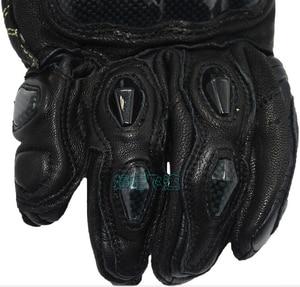 Image 4 - 送料無料 afs10 バイクグローブロードレースグローブサイクリンググローブ革手袋炭素手袋