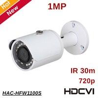 100% Original 1mp DH HDCVI Camera Outdoor Waterproof IP67 IR distance 30m Security Camera Survillance camere HAC HFW1100S