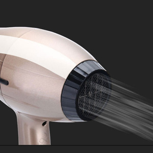 Image 3 - High Power Hair Dryer for Hairdresser Professional Negative Ion Blow Dryer Hot/Cold Wind with Air Collecting Nozzle D35