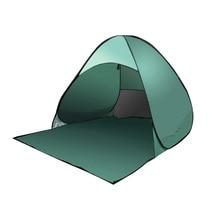 Ship From RU Beach Tent Ultralight Folding Tent Pop Up Automatic Open Tent Family Tourist Fish Camping Anti-UV Fully Sun Shade цена