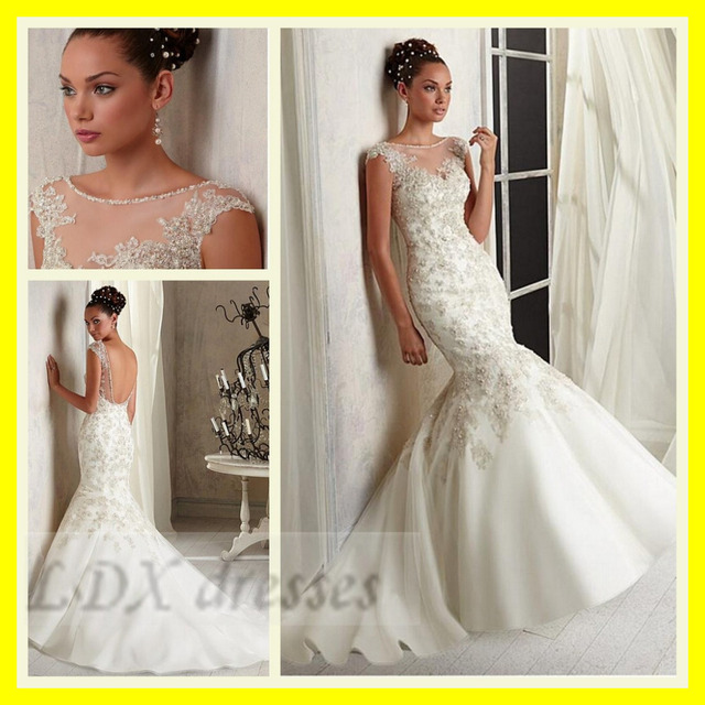 Gypsy Wedding Dresses Chinese Plus Size Vintage Rockabilly Dress Mermaid Floor Length Court Train Appliques 2015 Free Shipping