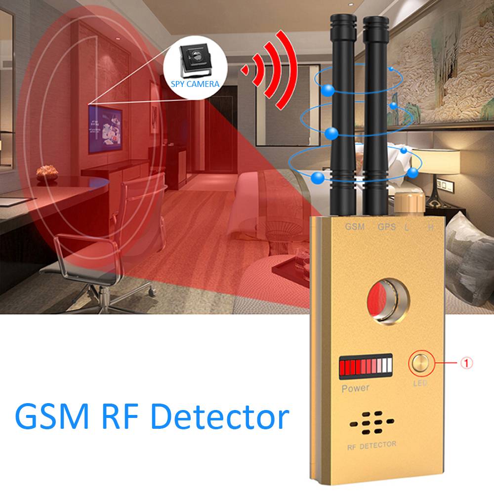 1 PCS Wireless Scanner Signal GSM Device Camera Finder RF Detector MicroWave Detection Security Sensor Alarm Anti-Spy Bug CC312