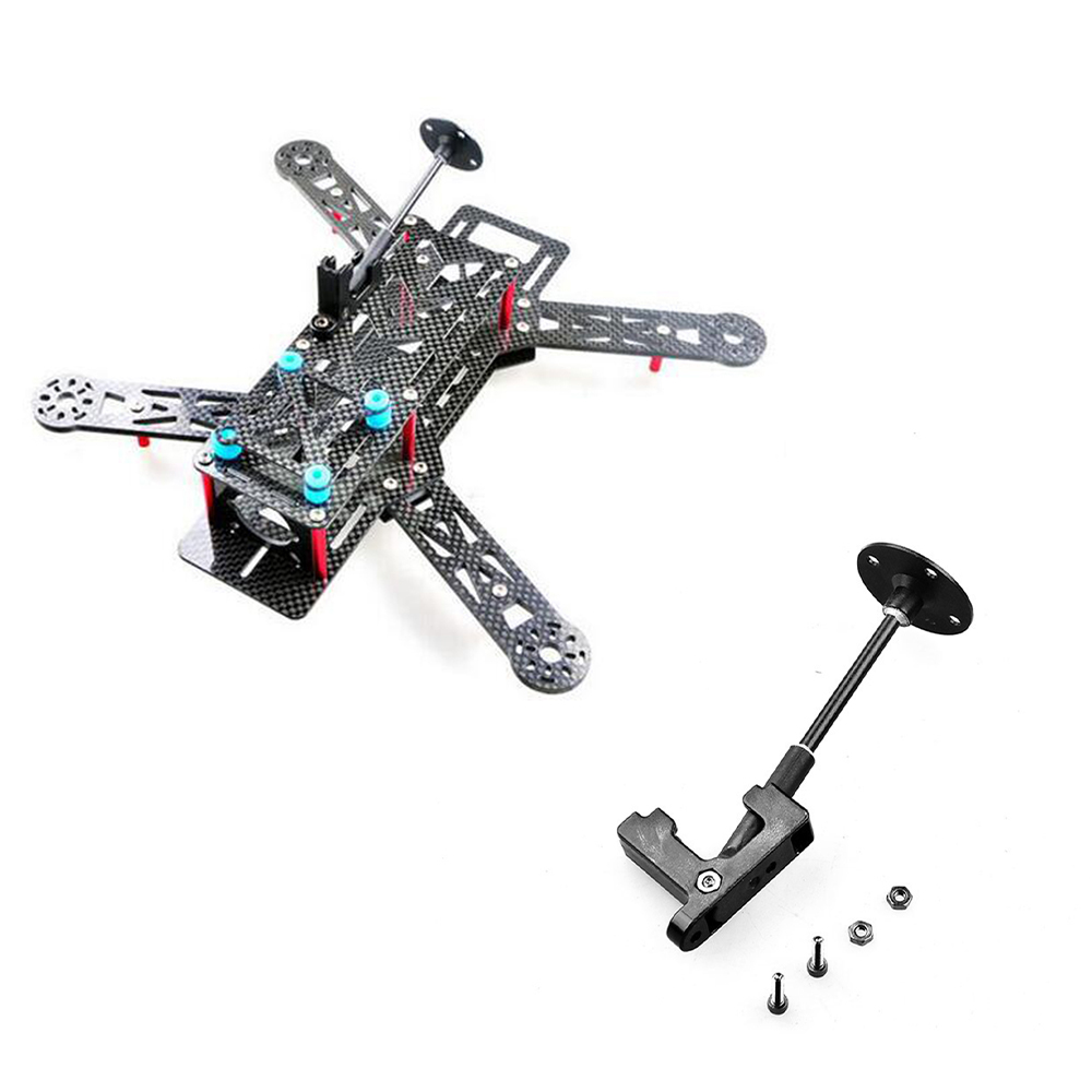 US $1 64 27% OFF|Universal Foldable GPS Antenna Stand Mount Folding Holder  For DIY Drone FPV 250 Quadcopter Multirotor Copter Lightweight Bracket-in