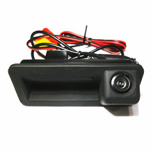 100% HD CCD for Ford Mendeo Focus Fiesta Hatchback Sedan CHIA-X Car parking backup rear view camera boot trunk switch handle