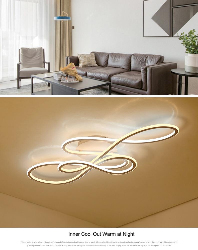 HTB1ZYEjbjDuK1Rjy1zjq6zraFXaZ NEO Gleam Double Glow modern led ceiling lights for living room bedroom lamparas de techo dimming ceiling lights lamp fixtures