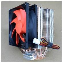 ต่างๆ 3 4 6 เครื่องทำความร้อน Heatpipes CPU Cooler สำหรับ Intel LGA771/775/115X/2011 สำหรับ AMD