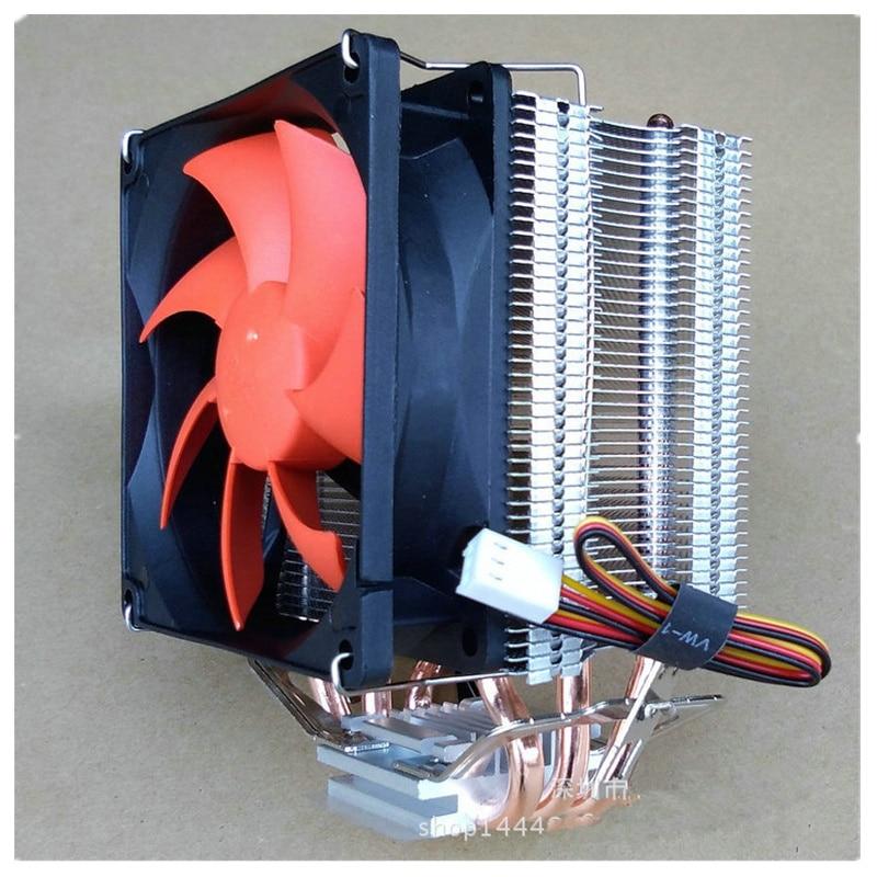 Varios tubos de calor 3 4 6 radiador CPU enfriador para Intel LGA771/775/115X/2011 para AMD