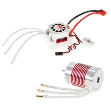 New SURPASS HOBBY Waterproof 3650 Brushless Motor with ESC for 1 10 RC Car Truck