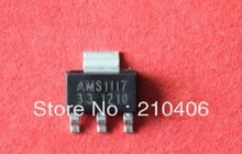 AMS1117-3.3 AMS1117-3.3 SOT223  Voltage regulator triode