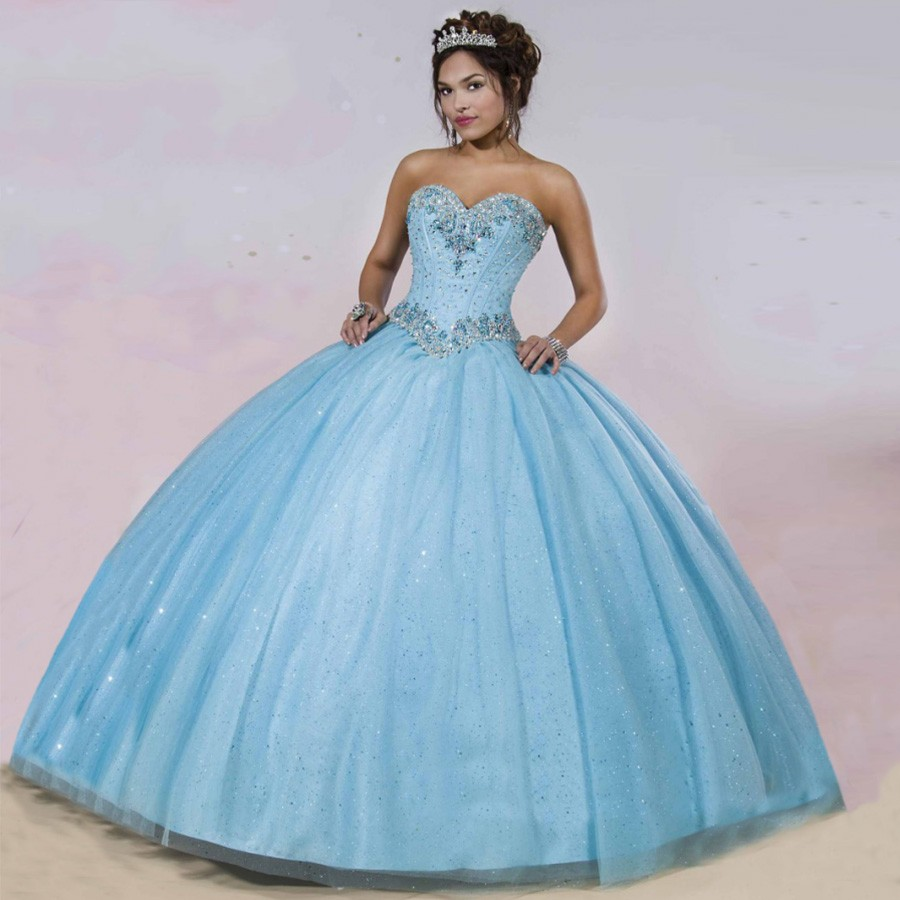 Popular Baby Blue Quinceanera Dresses Buy Cheap Baby Blue Quinceanera Dresses Lots From China