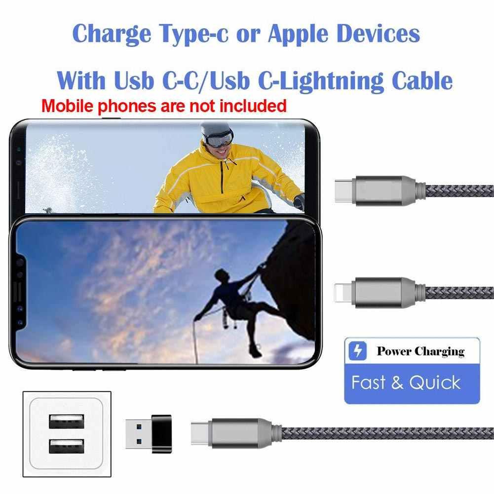 Externe à Type C femelle OTG connecteur adaptateur USB 2.0 mâle USB C câble Mini adaptateur
