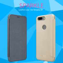 For Oneplus 5T Case Nillkin Smart Case For Oneplus 5T High Quality Leather Flip Case For Oneplus 5T Sleep Function 6.01'' m13s2561616a 5t