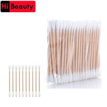 Cosmetic Stick-Swab Makeup Wooden Clean-Ear Cotton Buds Health The 10-Bags Ear-Head Ears