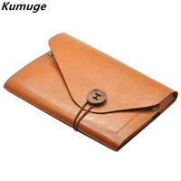 For New IPad 9 7 2017 Luxury Retro PU Leather Tablet Sleeve Bag For IPad Air
