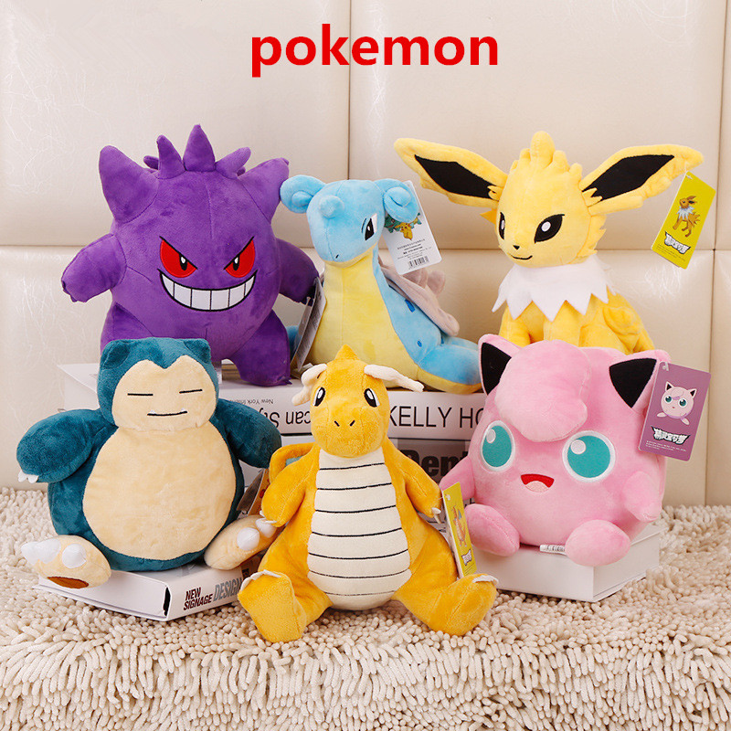 Costumes & Accessories Anime Game Pokemon Pikachu Snorlax Cosplay Props 10 Styles Cute Elf Baby Pet Toys Plush Doll Pillow Kids Teens Gift Decoration