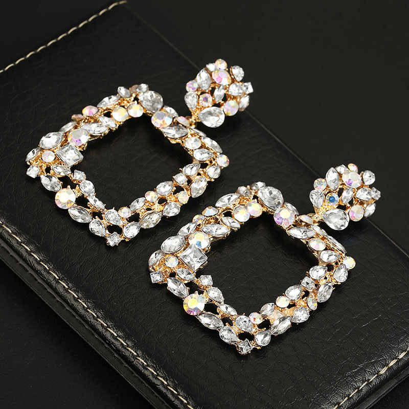 Great Vintage Earrings for Women color Metal Pendant Earring 2019 Geometric statement Jewelry Fashion Trend