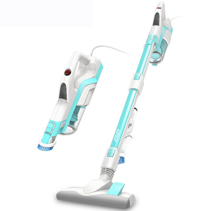 цена на 2 In 1 Portable Handheld Vertical Vacuum Cleaner Powerful Mini Car Vehicle Vacuum Cleaner Blue