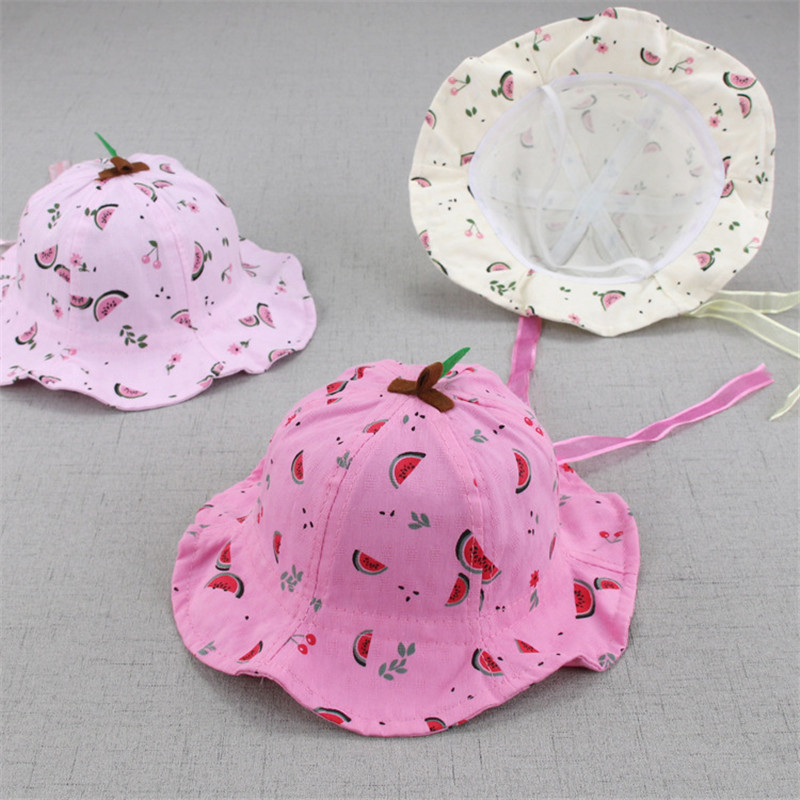 Soft Baby Bucket Sun Hat Summer Kids Basin Caps Windproof Children Fisherman Hats Breathable Lace Girls Hollow Beach Cap Accesso Accessories