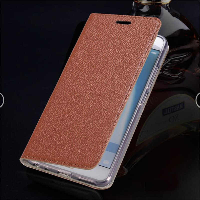 Leather Flip book case For Xiaomi 9 9se mi 8 9 lite 7a case with card slot stand real leather cover for xiaomi redmi note 8 CC9