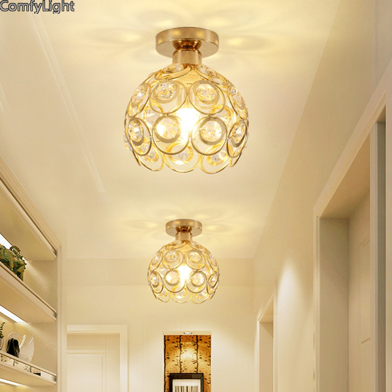 led kitchen ceiling lights for living room roof lampa lamp crystal kitchen lights ceiling hallway light fixtures round led