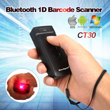 Mini CT30 Wireless Bluetooth Barcode Scanner 1D Barcode Reader for IOS Android Windows Scanner 1D Bluetooth Wireless
