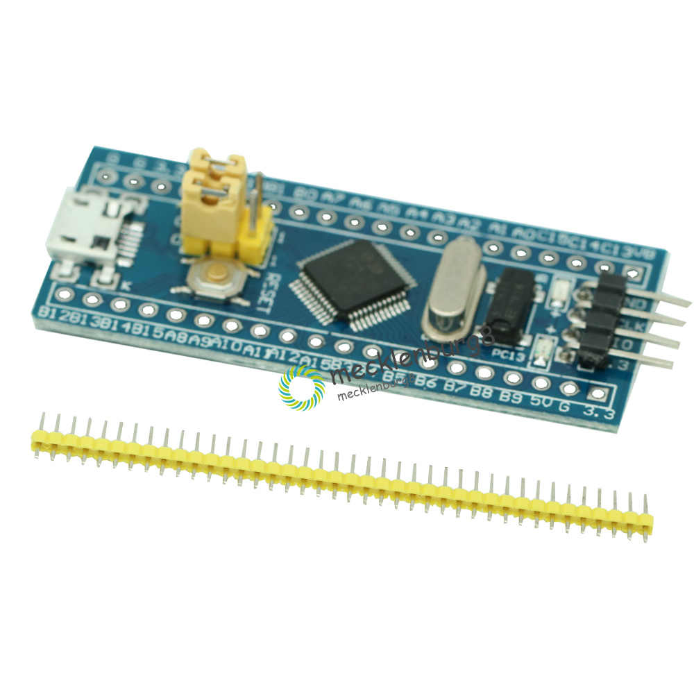 STM32F103C8T6 แขน STM32 Cortex-M3 โมดูลการพัฒนาระบบขั้นต่ำพร้อมคริสตัลสำหรับ Arduino 72MHz MINI USB