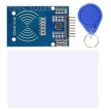 13.56 МГц rfid-модуль RC522 RFID Считыватель Писатель модуль с RFID S50 Фудань Ключ-Карта SPI Читать и Писать для Arduino Uno/Mega2560