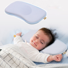 Baby Nursing Pillows Kids Sleep Cushion Bunny Neck Pillows Infant Toddler Sleep Positioner Anti Roll Cushion Flat Head Pillow
