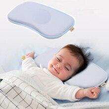 Travesseiro de bebê, travesseiro de bebê para enfermagem, almofada para dormir, coelho, pescoço, travesseiro para criança, posicionador de sono, anti rolo, almofada de cabeça plana