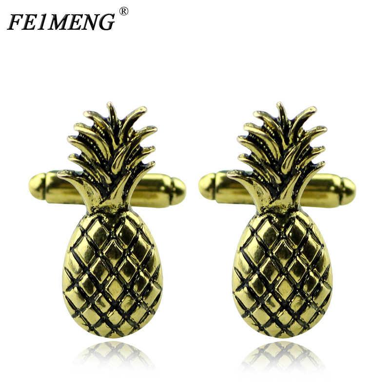 Pineapple Tie Bar Charm Tie Clip NEW