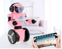 Smart RC Robot F4 0.3MP Camera Intelligent G sensor Robot High Tech Toys App control MINI Electronic Toys Gift for Children kids