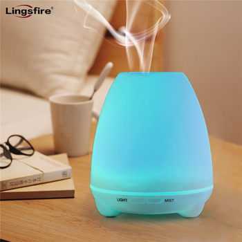 100ml Aroma Essential Oil Diffuser USB Mini Air Purifier Ultrasonic Aroma Humidifier with 7 Color Changing Night Lights decleor aroma night