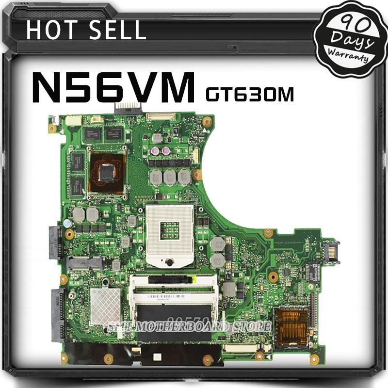 все цены на n56vm Rev 2.3 laptop motherboard Fit N56V N56VM N56VJ N56VZ N56VB non-integrated N13P-GL-A1 GT630M 2GB system motherboard онлайн
