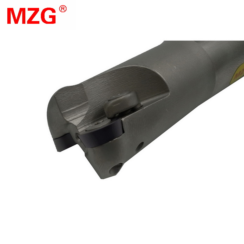 MZG EMRC20-5R25-150-2T Two RP Carbide Inserts Clamped Alloy End Mill Arbor Milling Cutting Machining Round Nose Milling Cutter milling cutter emrc25 5r25 160 2t bore indexable shoulder end mill arbor mill cutting tools insert of carbide inserts