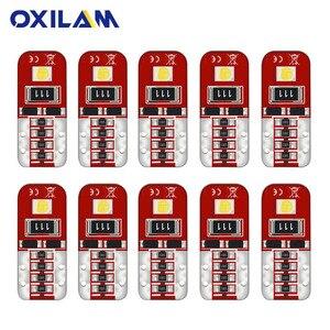 10x t10 lâmpada led w5w 168 194 led canbus iluminação interior do carro luz da placa de licença para toyota camry yaris mitsubishi mazda lexus