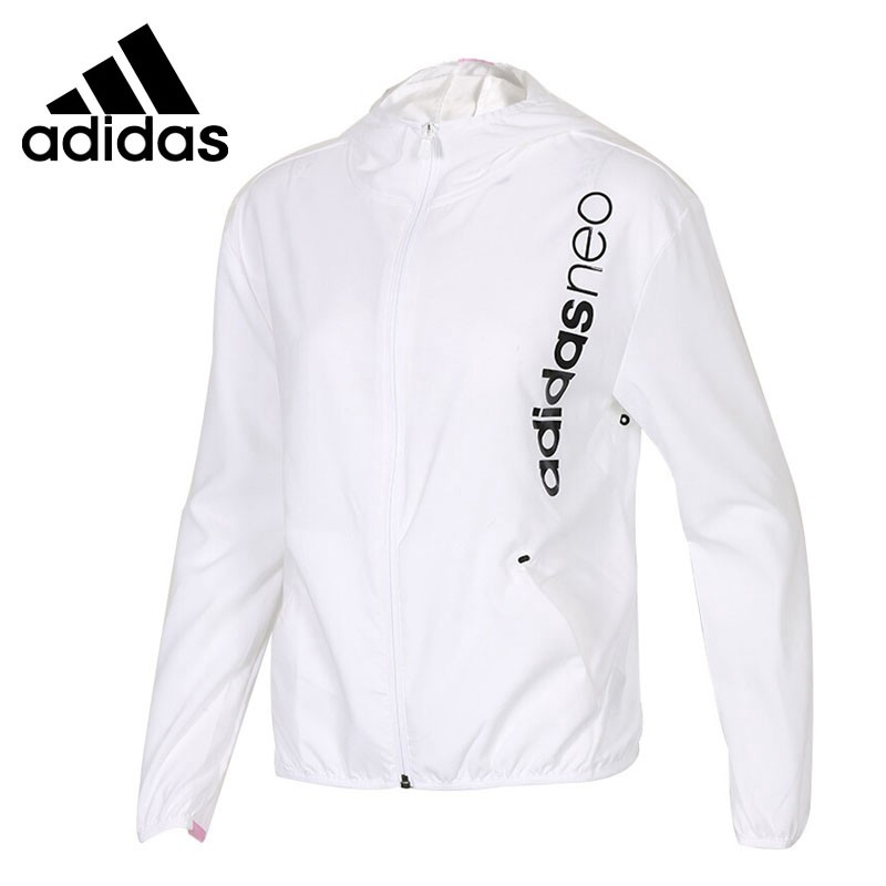 Original New Arrival 2018 Adidas NEO Label CE CLIMA WB Womens  jacket Hooded Sportswear Original New Arrival 2018 Adidas NEO Label CE CLIMA WB Womens  jacket Hooded Sportswear
