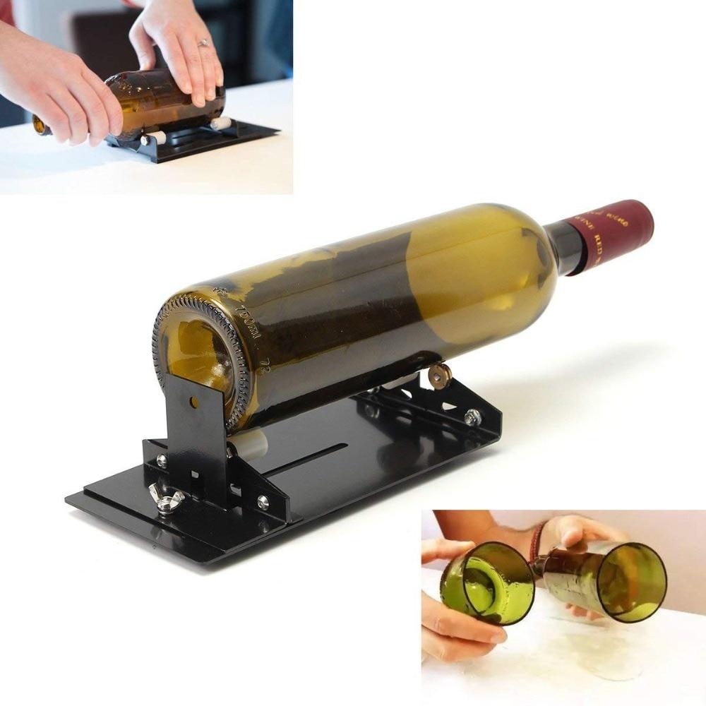 Stainless Iron Glass Bottle Cutter Wine Beer Glass Cutter DIY Glass Bottle Cutting Tool Highly Durable Metal Bottle Cutte