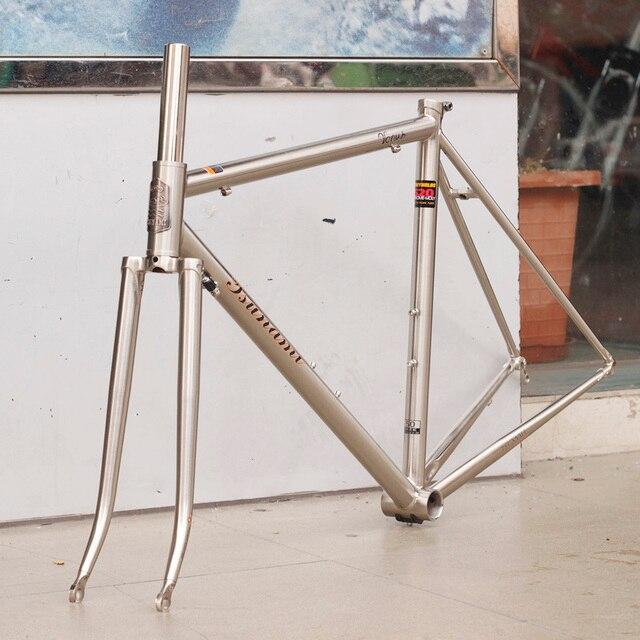 TSUNAMI 520 with 4130 CR MO Steel Road Bike Frame Fork 700C Classic ...