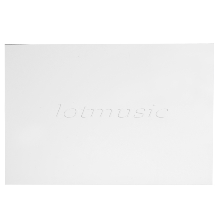 Quality New Scratch Plate Pickguard Blank, 3-Ply, .090