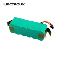 For X500 X550 Battery For Robot Floor Cleaner DC14 4V 2000mAh Ni MH Battery 1pc