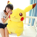 50cm kawaii pokemon pikachu pillow doll kids christmas gift large stuffed pikachu Plush toy,pokemon go toys for Children
