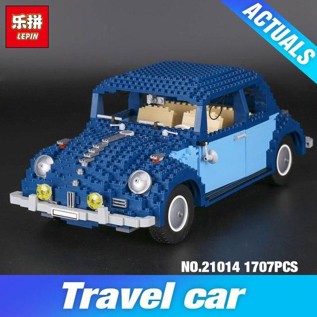 Lepin 21014 1707Pcs Technic Classic Series The Ultimate Beetle Set children Educational Building Blocks Bricks Toys Model 10187