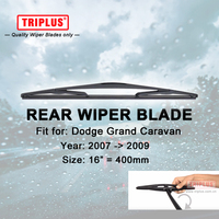 Rear Wiper Blade For Dodge Grand Caravan 2007 2009 1pc 16 400mm Car Rear Windscreen Wipers