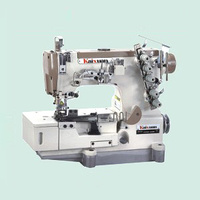 3 needle 5 threads Stretch sewing machin, two sides decoration sewing machine KX500 02BB