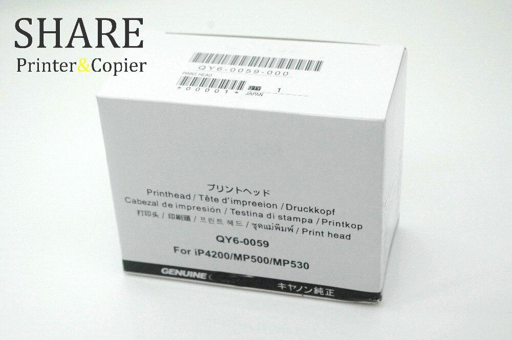 PrintHead QY6-0059 original For canon IP4200 MP500 MP530 brand print head qy6 0059 for canon mp500 mp530 ip4200 printhead